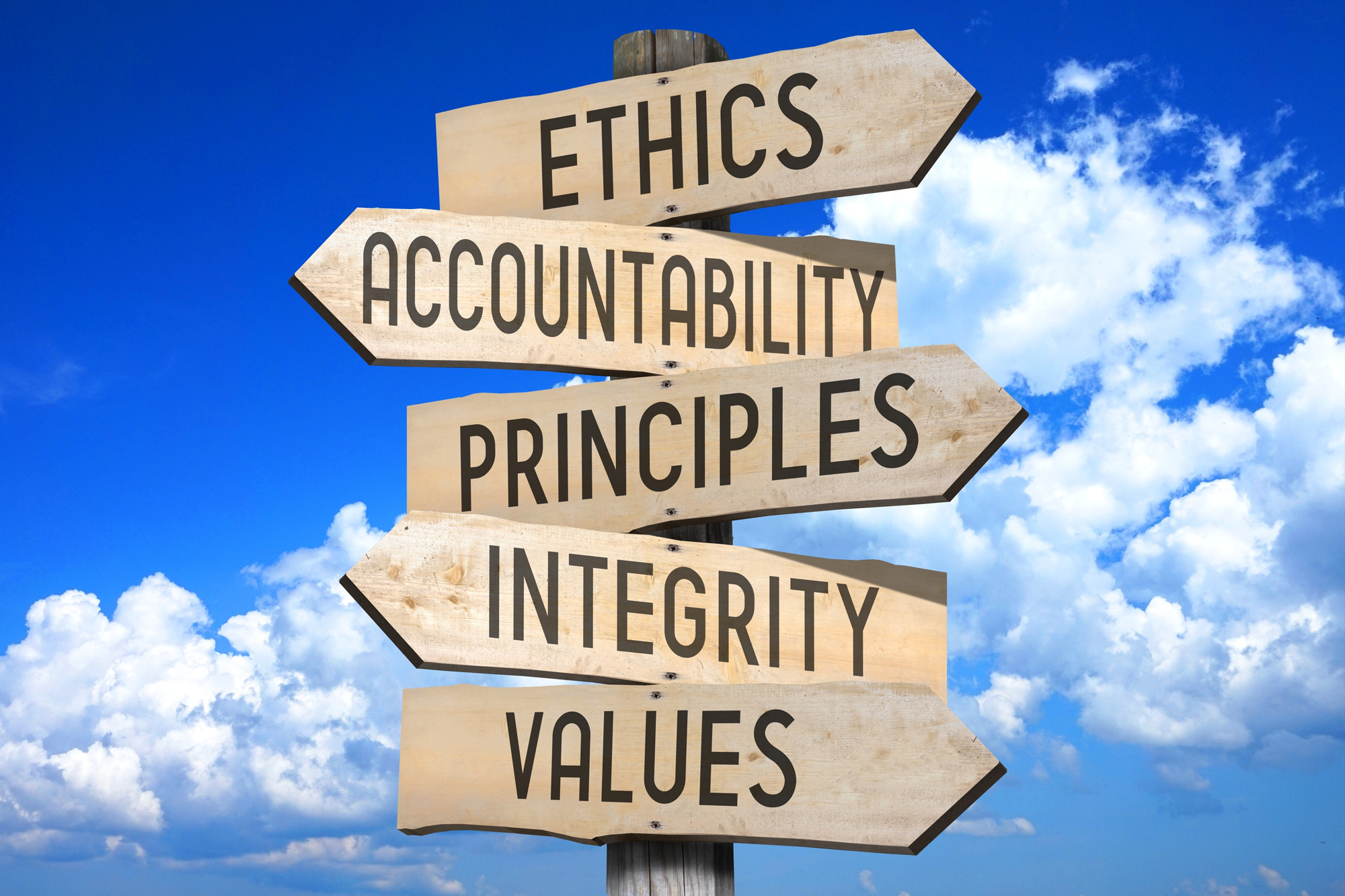 This image shows how ethics can be used to better their lives.
