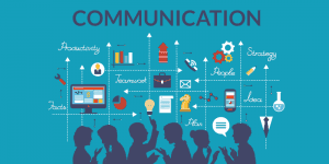 An image of different forms of communication