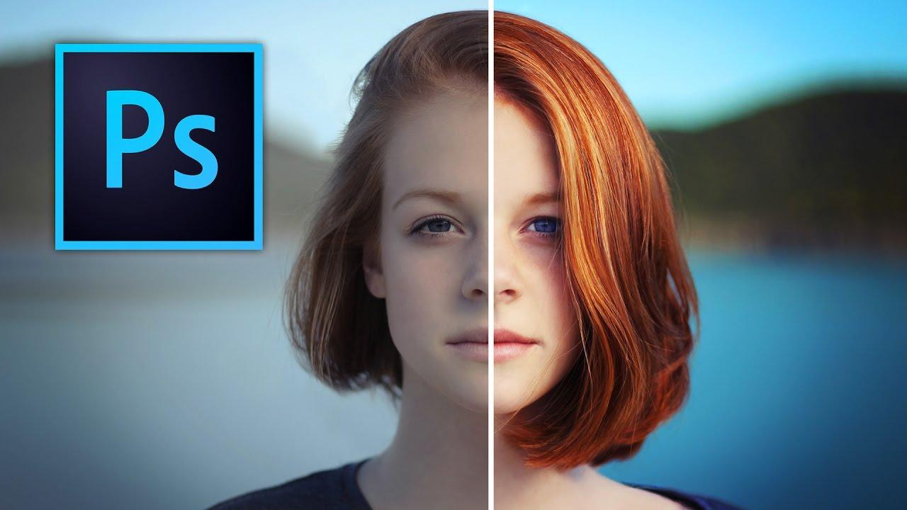 Color enhancement using Photoshop.