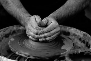 An image of the potter's wheel