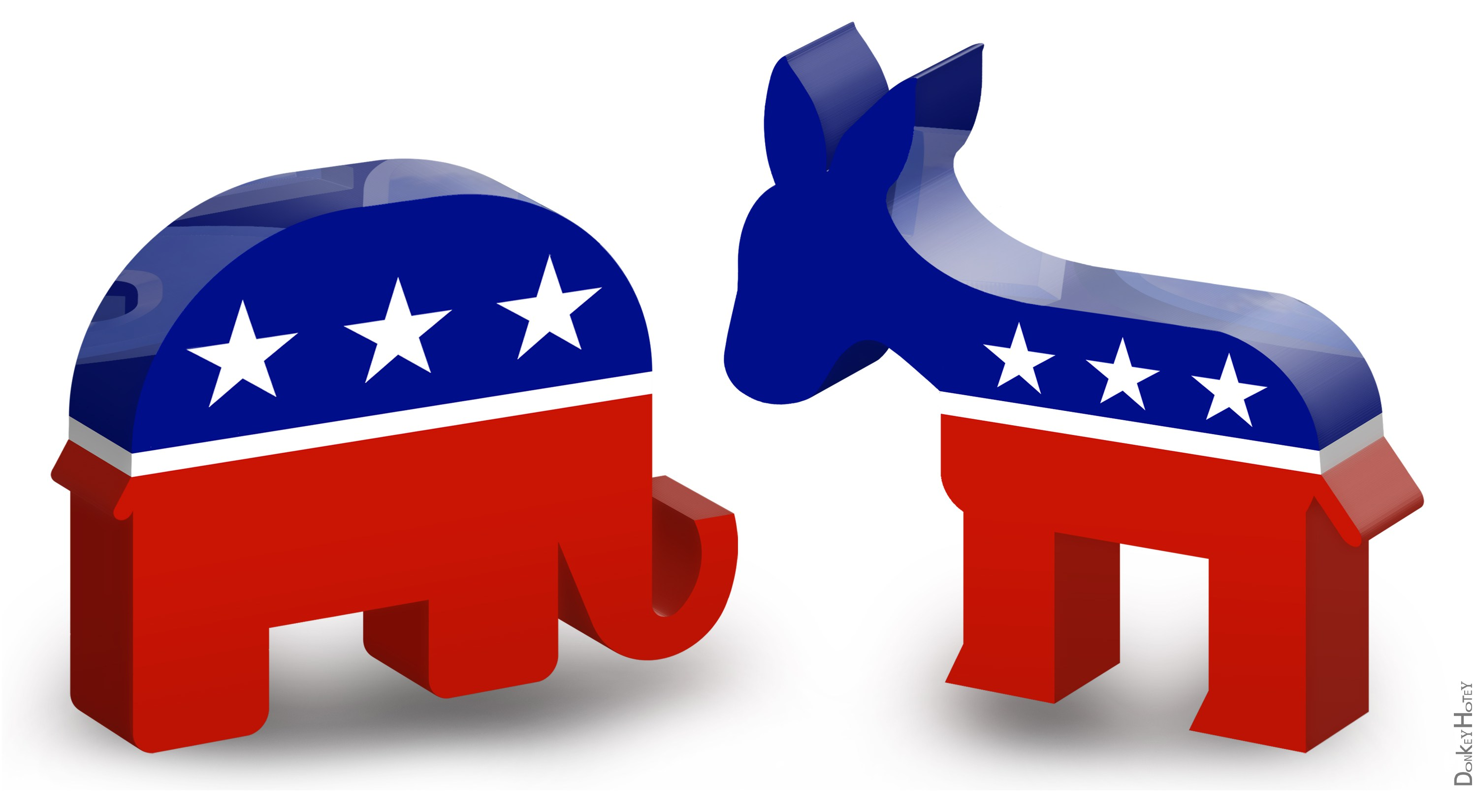 the two political parties
