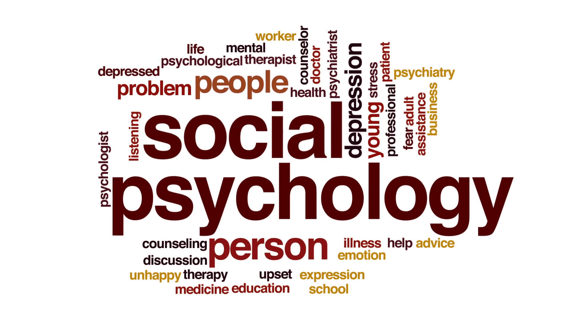 terms relating to psychology