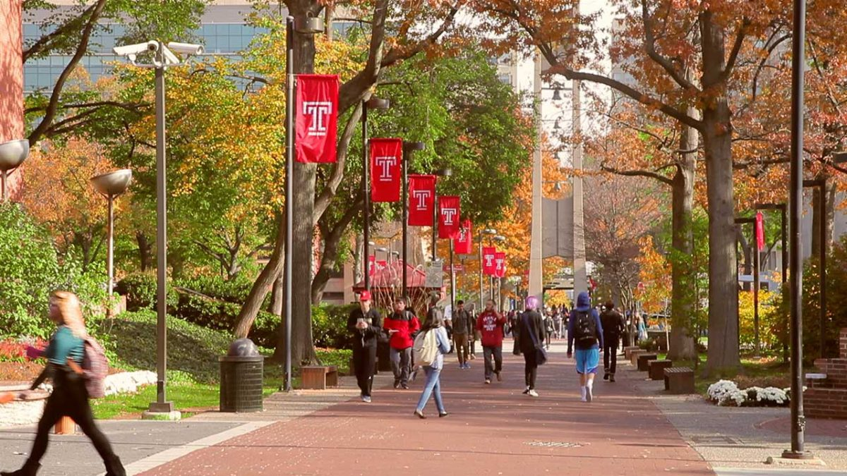 Top 10 Professors at Temple University