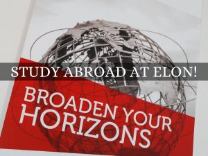 General advertisement for study abroad