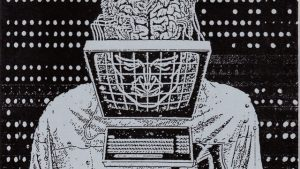 A cartoon of the chaos of cyber culture