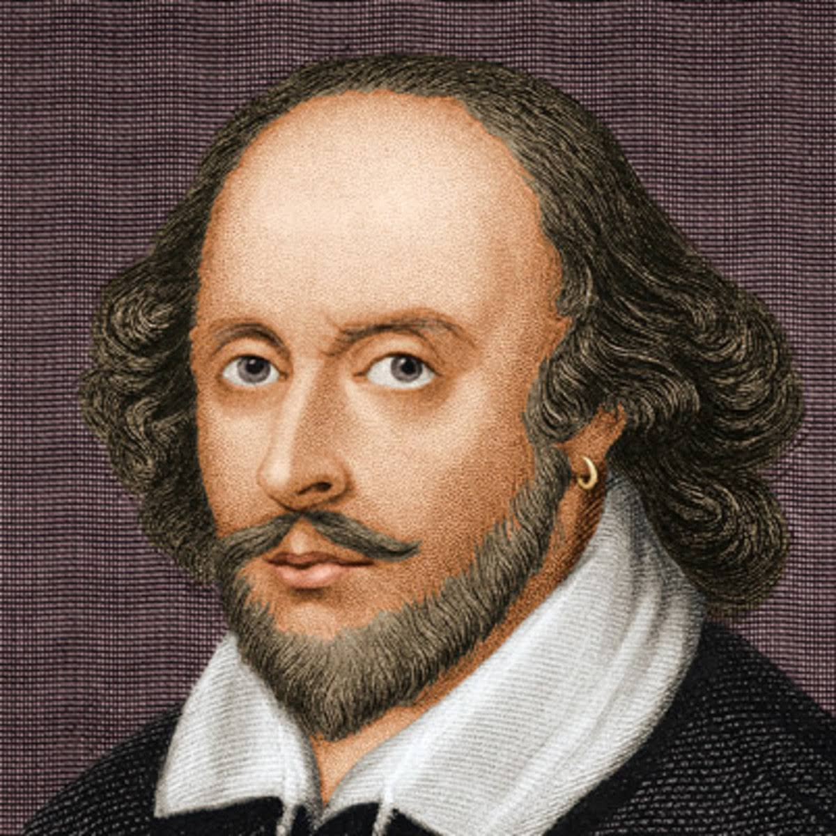 a photo of William Shakespeare