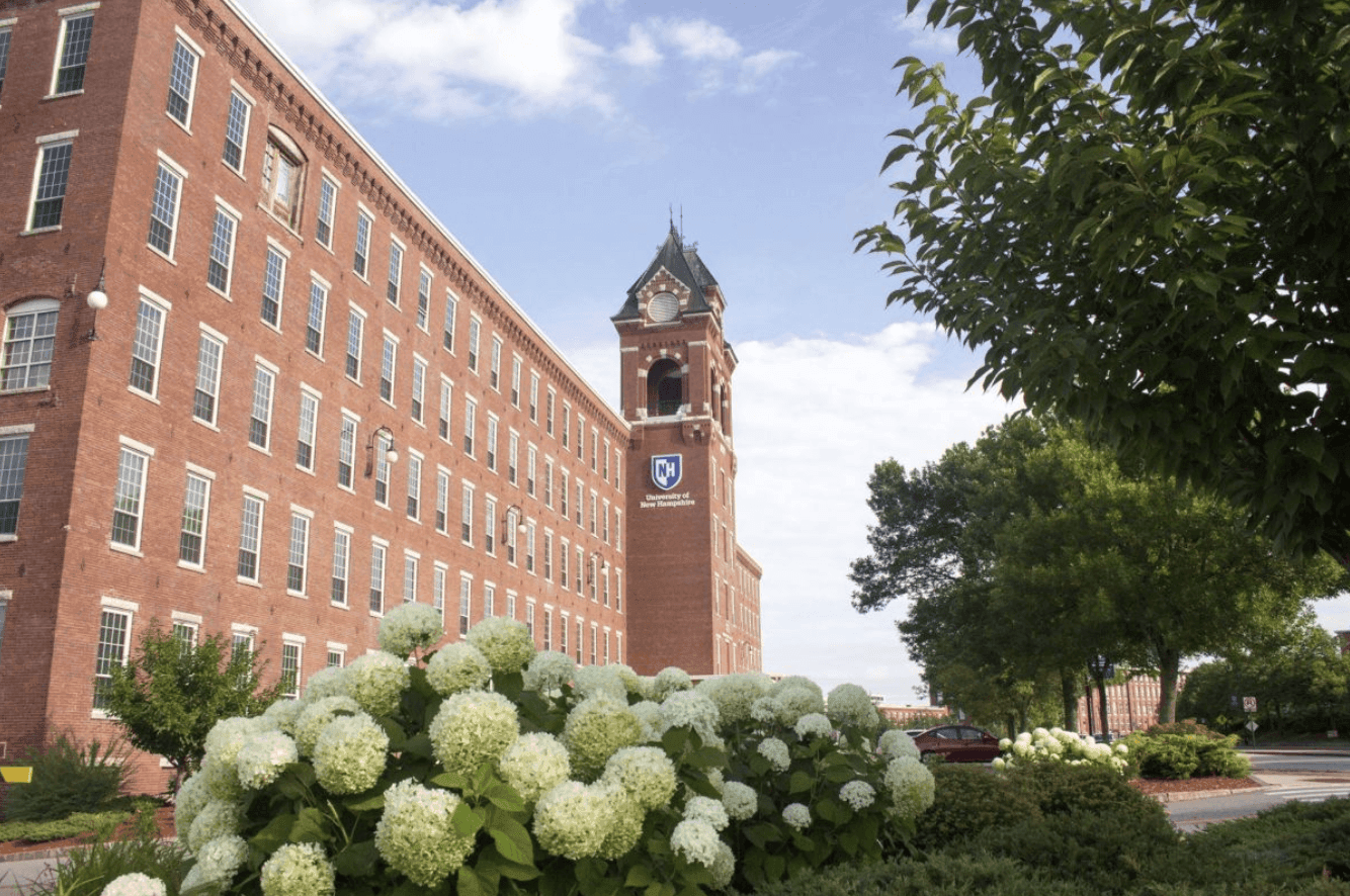 University of New Hampshire at Manchester clock tower
