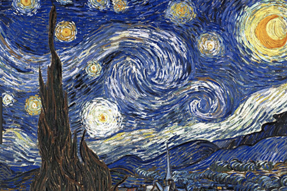 Van Gogh's STARRY NIGHT painting