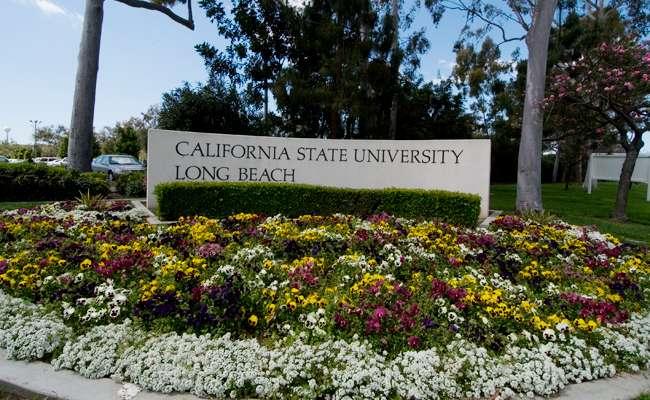 Csu Long Beach Campus Sign