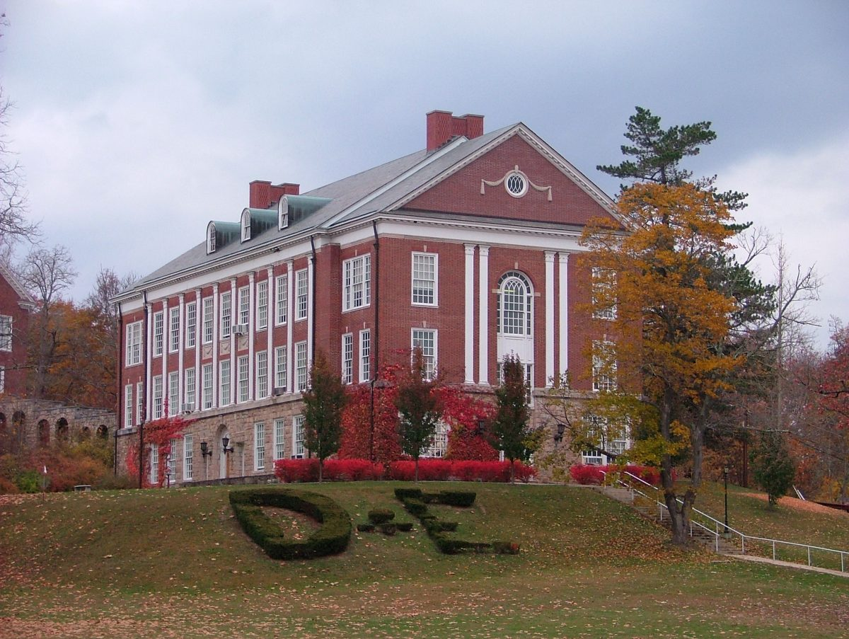 Davis and Elkins College campus building