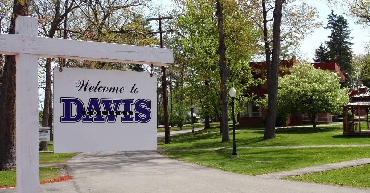 An image of Davis College