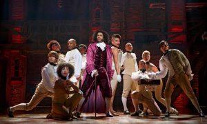 The cast of Broadway's Hamilton