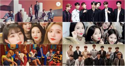 Famous Kpop groups