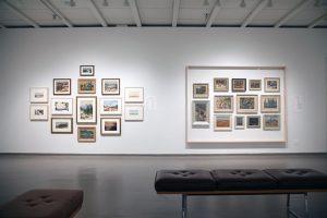 Art gallery at University of Lethbridge
