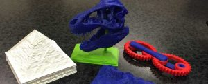 3D printer projects at the University of Alberta