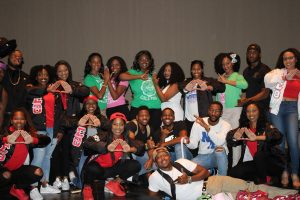 Texas A&M's National Pan-Hellenic Council Hosts 2017 Yardshow.