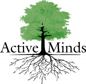 The symbol for Active Minds.