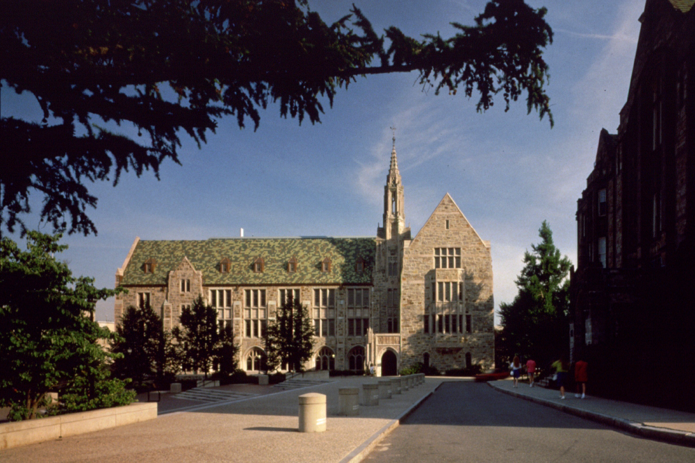 Devlin Hall is found in Boston College's Middle Campus.