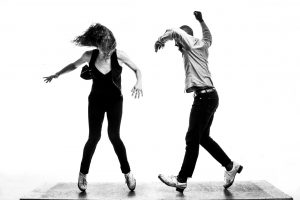 An image of two people dancing.