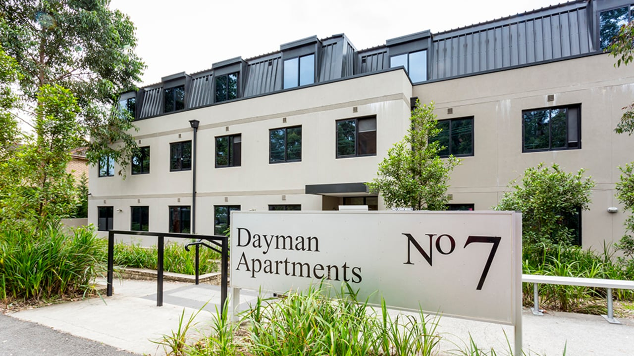 Dayman apartments