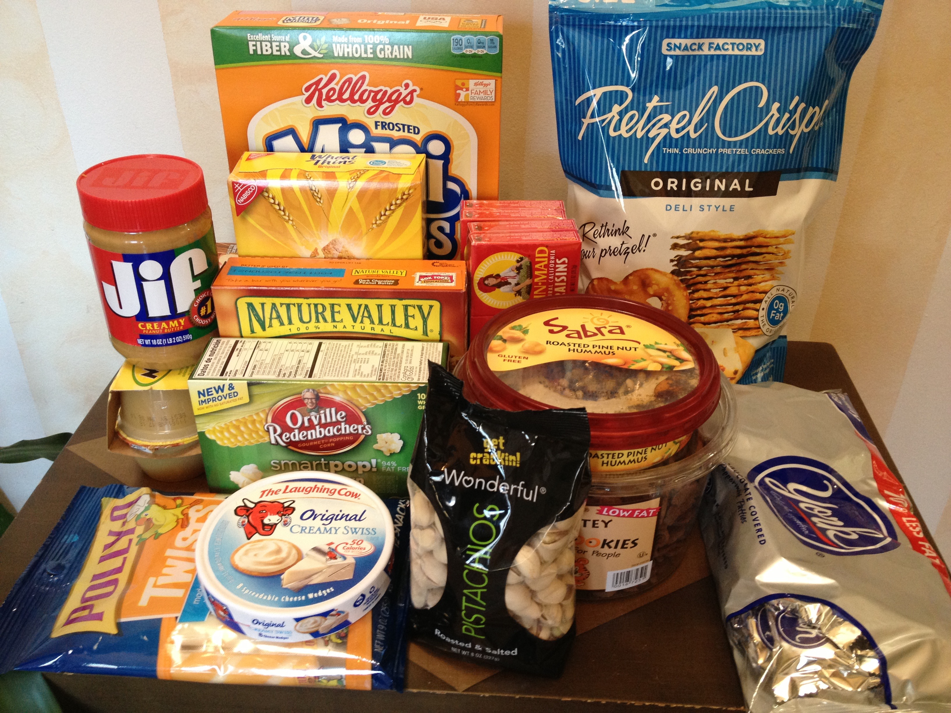 snack foods for sorority house at UMD college