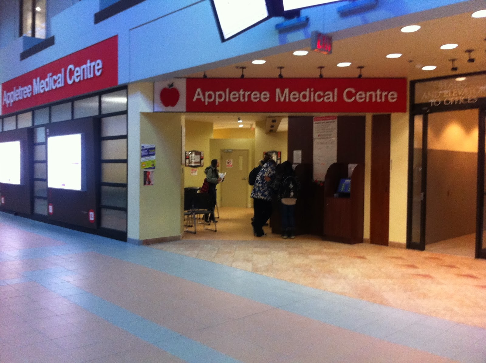This image shows the Appletree medical center located in York lanes of York university