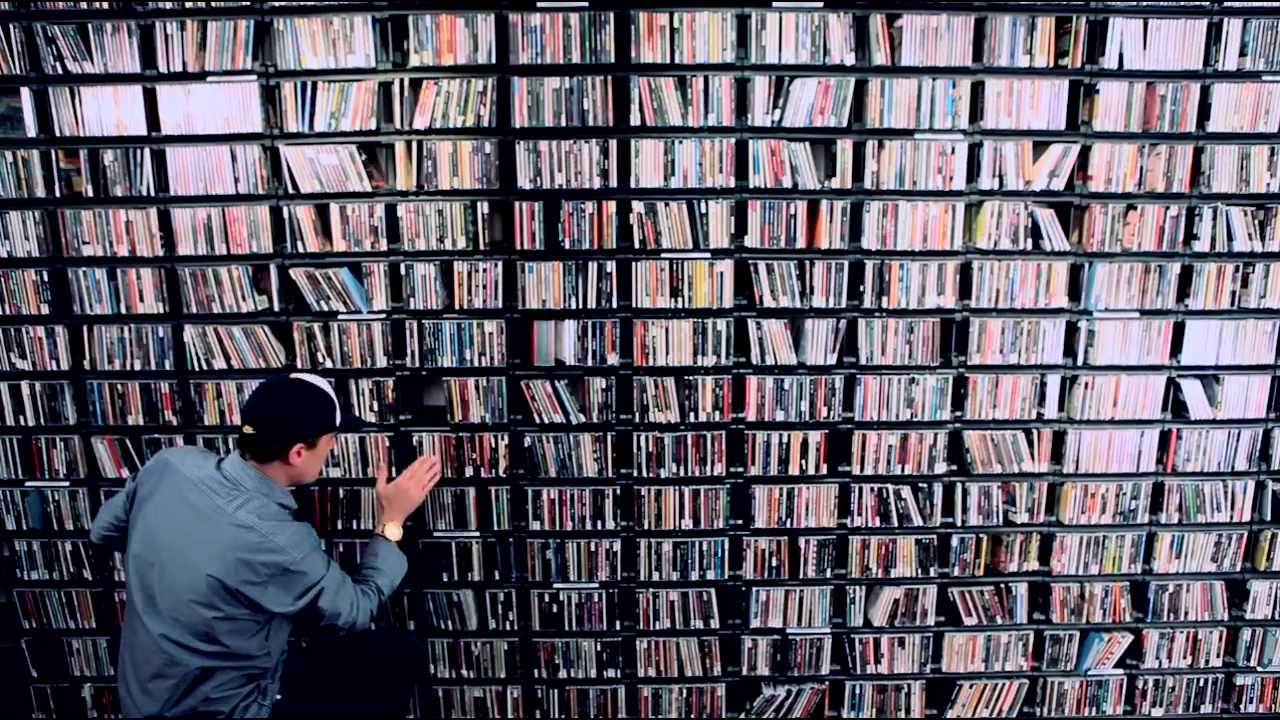 a music library.