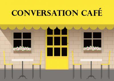 Conversation Cafe graphic logo