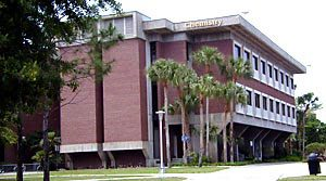 An image of the Chemistry Building.