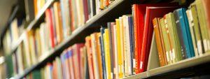 Books at a Boston University library