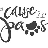 logo for cause for paws