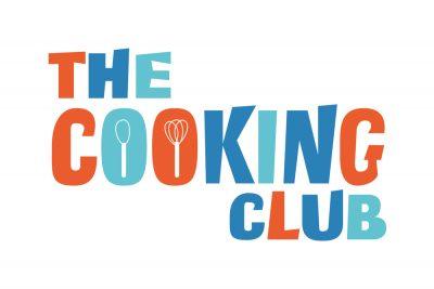 A cartoon logo for a cooking club