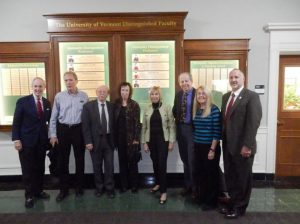 This picture depicts the recipients of the distinguished faculty award