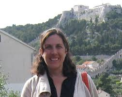 This image shows Professor Morgan in the field.