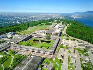 SFU Campus on top of Burnaby Mountain