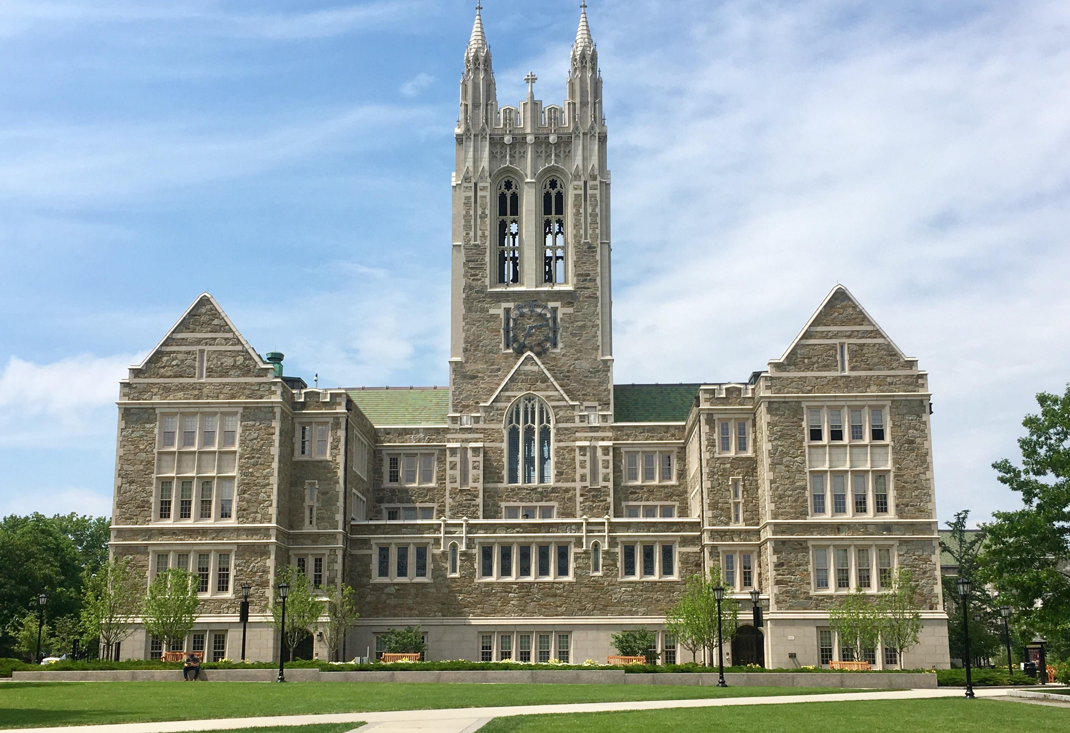 The Gasson Hall is located in Boston College Main Campus.