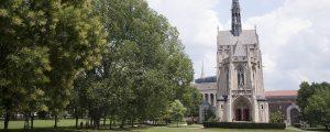 Chapel view of bridge