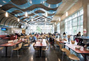 Student dining hall