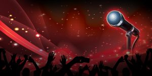 A representation of Karaoke Night.