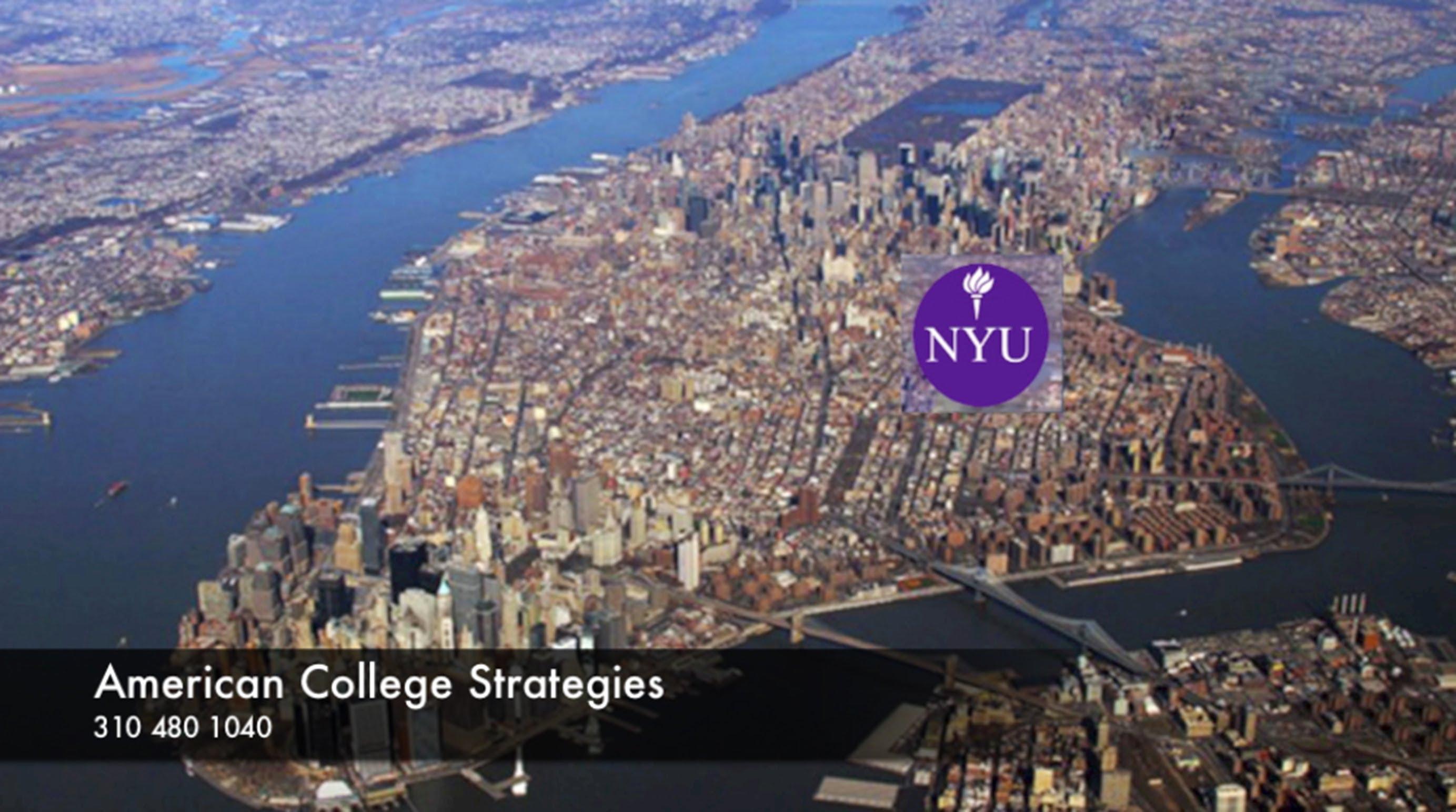 NYU - New York University - Campus visit with American College