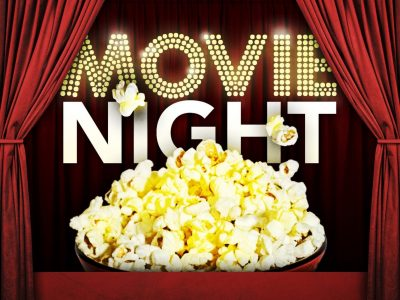 Free movie night and popcorn