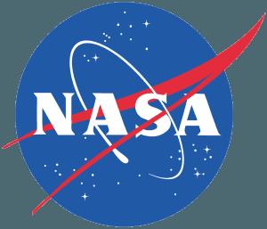 An image of the NASA symbol.