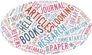 Research Guides Word Splash