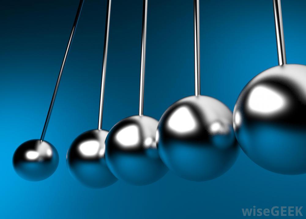 5 pendulums