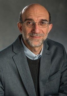 This image of Professor Radha is associated with his research and reputation.