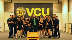 A picture of the VCU acapella group, RAMifications