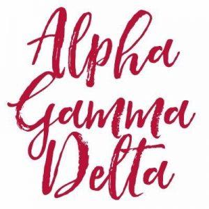 logo for alpha gamma delta