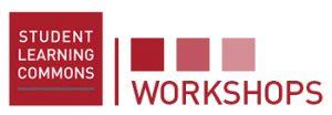 Student Learning Commons Workshops logo