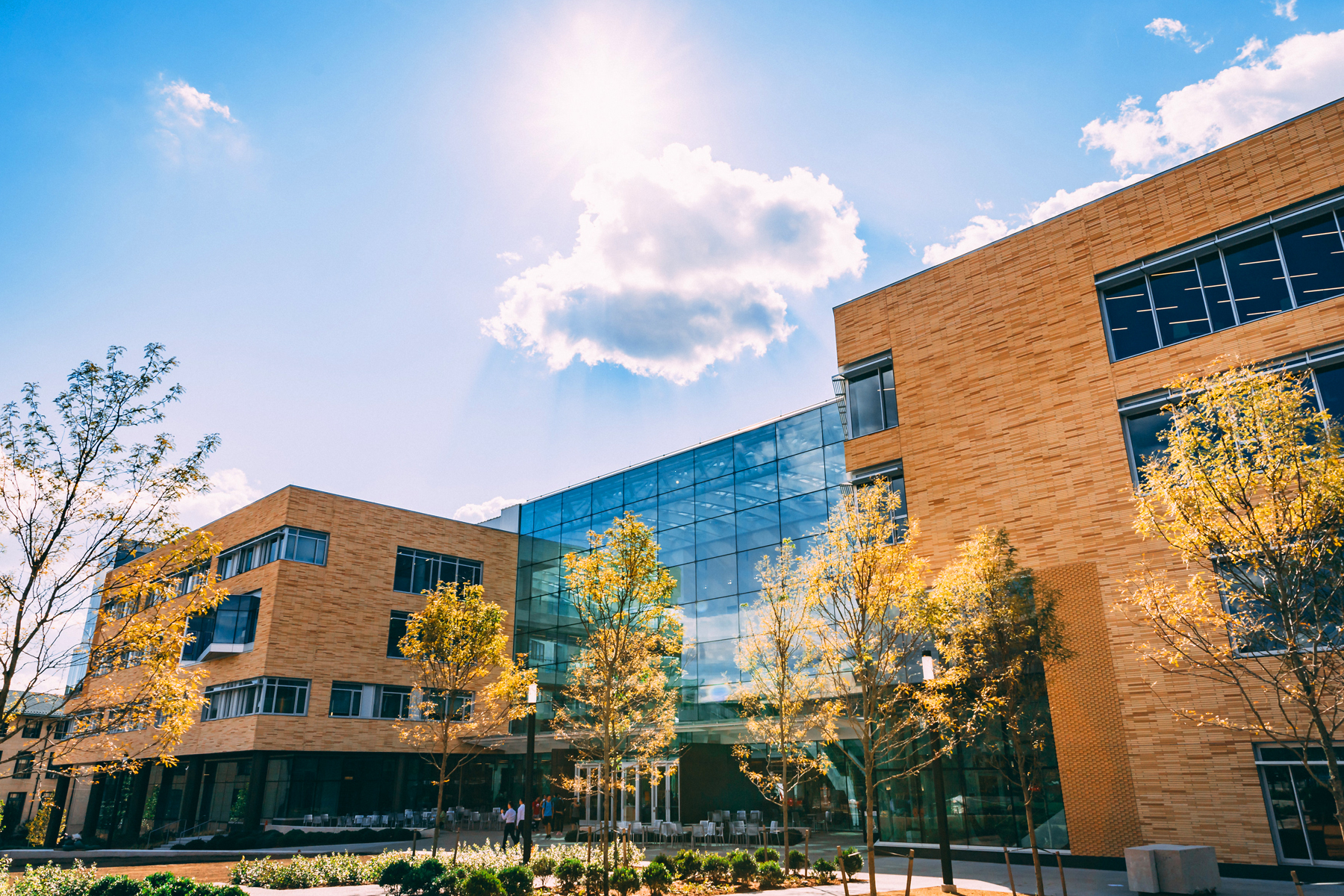 The Tepper Quad is the school's newest building.