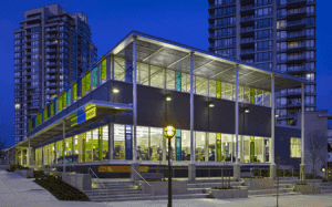 A Burnaby Public Library Branch